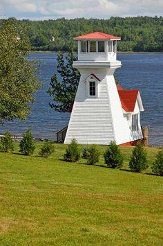 Oak Point Range Front lighthouse [1904 - Miramichi, New Brunswick, Canada]