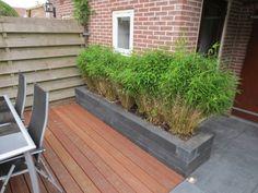 Bestrating kleine tuin