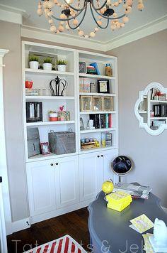 pretty office by @Jennifer hadfield