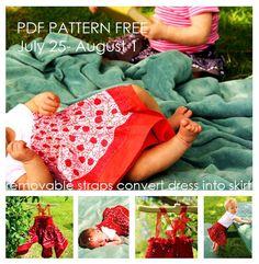 Grosgrain: Free Pattern: Bandana Dress