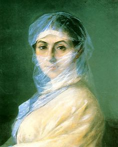 Ivan Aivazovsky's oil painting Portrait of the Artist's wife