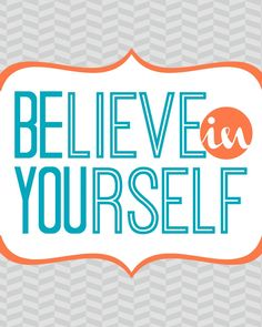 Be You... {Free Printable}