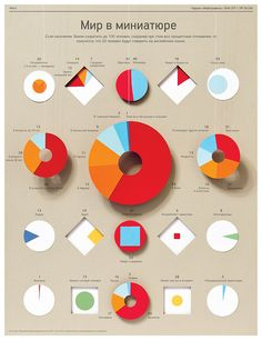 miniatures, graphic design, shadow, paper infographic, cut paper, people, 100 peopl, construction paper crafts, pie charts