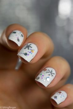 20 Unique Nail Art Ideas and Designs for New Year's Eve ‹ ALL FOR FASHION DESIGN