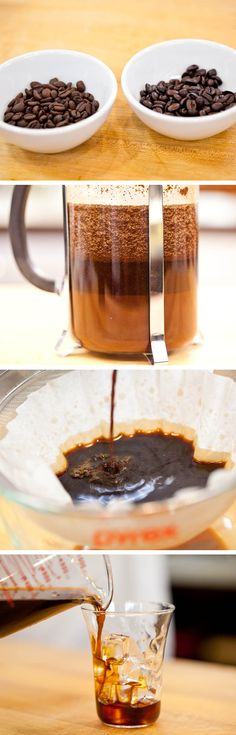How To Make Cold-Brew Coffee.