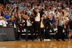 An image from Duke vs. UNC 2012 that invokes great memories of 2002!