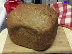 Black Russian Bread Machine Loaf