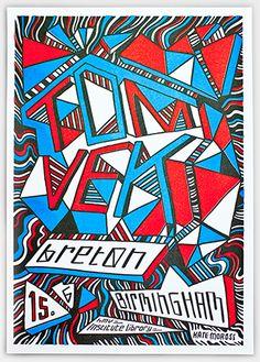 TYPO London 2012 speaker Kate Moross: http://typotalks.com/london/2012/speakers/ Poster