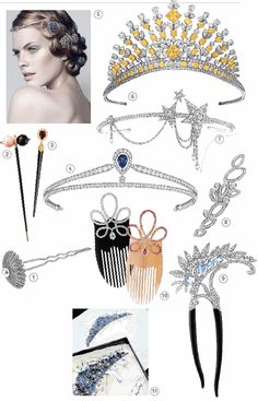 1. Alexander Arne 2. Evasion by Cartier 3.  Yana 4. Josephine by Chaumet 5.  Grand Frisson by Chaumet 6. Graff 7. Collection 1932 by Chanel Joallerie 8. Lily Cluster, Harry Winston 9. Le Bal Proust/ Bal de Legende by Van Cleef 10. Collection 1888 by Lalique 11. Chaumet archive (more then 5000 tiaras)