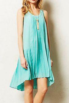Fluttered Mint Dress