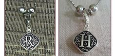 $19.99 Vintage Initial Charm Necklace | Sassy Steals