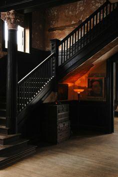Harmony Club - patina, rustic, stair case - La Maison Boheme