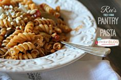 Ree's Pantry Pasta | Quick Dinners | TodaysCreativeBlog.net
