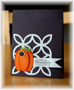 nice pumpkin card