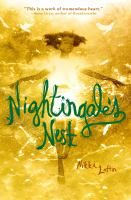 """<2014 pin> Nightingale's Nest by Nikki Loftin. SUMMARY:  In this twist on """"The Nightingale,"""" Little John, despite his own poverty and grief, reaches out to Gayle, an unhappy foster child living next-door who sings beautifully and hides a great secret."""