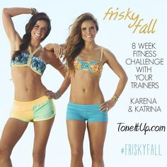 Frisky Fall Fitness Challenge ~ Week 1 Schedule!
