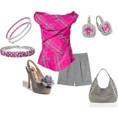 Luv pink & grey together