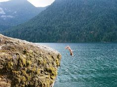 Lake Cushman, Washington