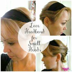 DIY Headband for small heads