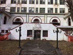 The Abandoned Adler Hotel-Sharon Spring- NY