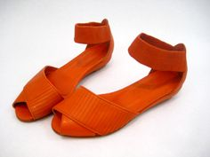 My Daily Covet: Rachel Comey Schindler Sandals- Orange by CMYKaboom!, via Flickr