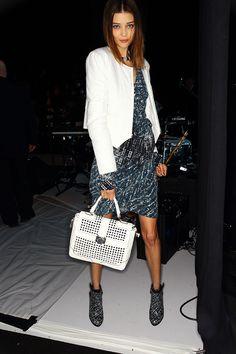 Rebecca Minkoff Elle Studded Satchel bag. #onlyatNM