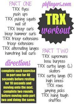 TRX Workout - Bloglovin