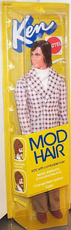 Mod hair Ken 1973