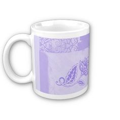 Blue Floral  Beautiful soft pastel periwinkle blue floral and paisley design. Ethnic folk art created with modern digital techniques. Delightful and elegant for your kitchen decor.