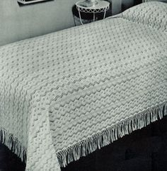 West Wind Bedspread Pattern (Knit)