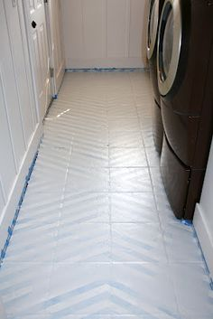 Paint Floor Paint Tile Floors Tutorials Tiles Painting Tile Floors