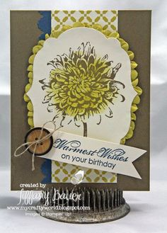 My Crafty World: Warmest Wishes