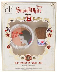 e.l.f. Disney Snow White Face Collection Gift Set - the blush in this duo is more of a highlight... it's kinda amazing!