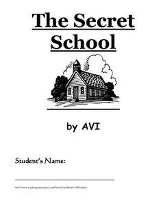 The secret school by avi book report