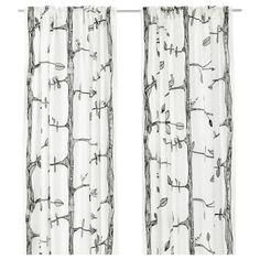 cute =)EIVOR Pair of curtains - IKEA