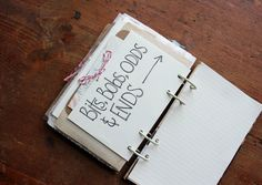 besottment by paper relics: art journal