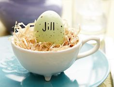 Place Setting Eggs