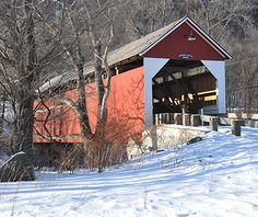 : Arthur A. Smith  Covered Bridge, Colrain, MA