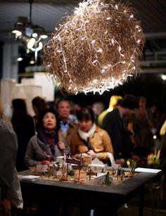 Pergola  tumbleweed chandelier