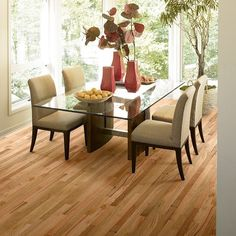"""Hardwood Flooring in style """"Mineral Bluff"""" color Quarry - Flooring by Shaw"""