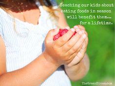 Teaching Kids about Eating Seasonally