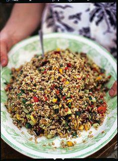 Italian Roast Vegetable & Farro Salad | Jamie Oliver | Food | Jamie Oliver (UK)