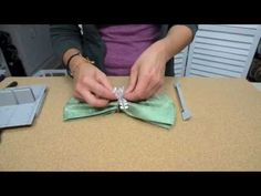 Easy and Inexpensive Thanksgiving Napkin Rings - crafty video