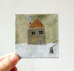 tiny paintings {ohchalet}