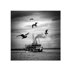 Black and white photography wall art  istanbul   by gonulk on Etsy, $30.00