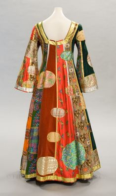 Klimt dress (back) by Giorgio di Sant' Angelo, Fall 1969