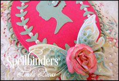 Spellbinders, @Lovely Linda Nestabilities, Inspire, DIY, Handmade, Craft, Silhouette, Tuesday Video Tutorial