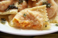 Gorgonzola Butternut Squash Ravioli - Half Baked Harvest