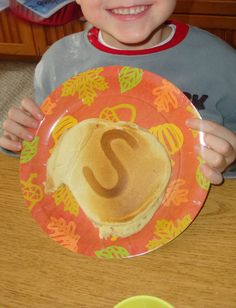 condiment bottl, pancak batter, letter, cook pancak