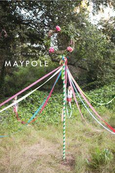 DIY Maypole Tutorial